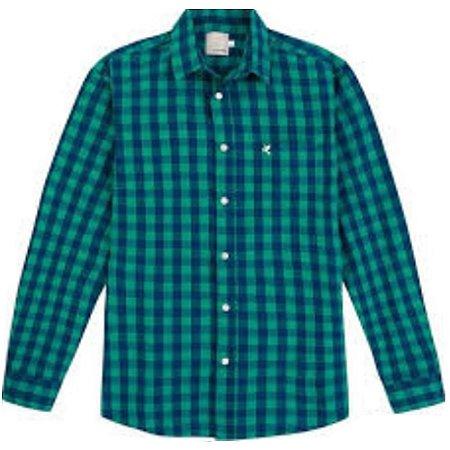 Camisa Masculina Tradicional Xadrez 1000058744 Malwee