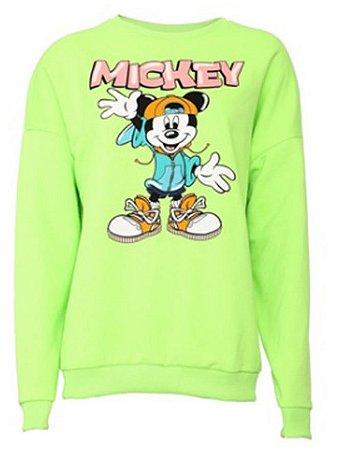 Blusa Feminina Estampada Mickey D10052 Cativa
