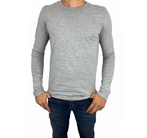 Camiseta Masculina Manga Longa Gola Careca  H60183 Habana