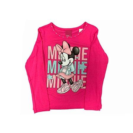 Blusa Manga Longa Minnie D60184  Disney