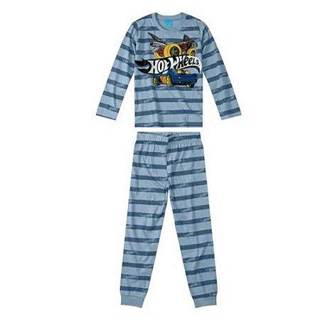 Pijama Infantil Longo Hot Wheels Masculino Malwee Kids