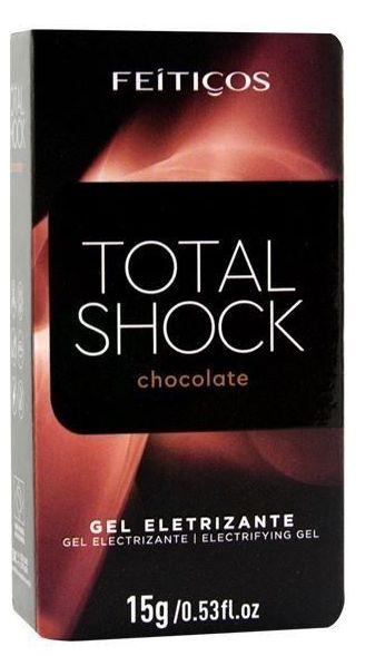 VIBRADOR LÍQUIDO TOTAL SHOCK CHOCOLATE
