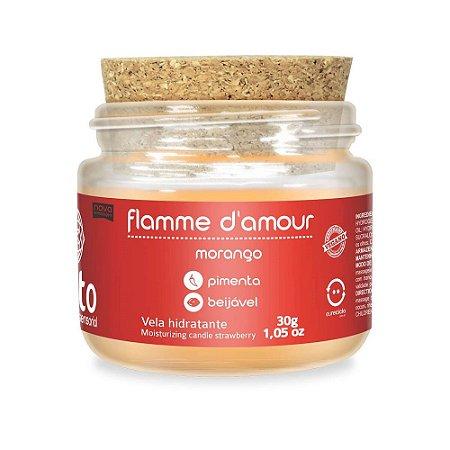 VELA FLAMME D'AMOUR MORANGO 30G