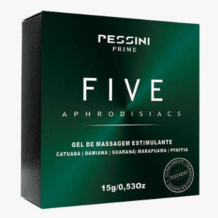 EXCITANTE UNISSEX FIVE APHRODISIACS