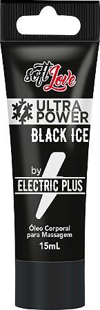 VIBRADOR LÍQUIDO ULTRA POWER BLACK ICE