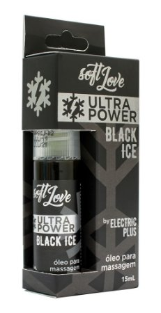VIBRADOR LÍQUIDO ULTRA POWER BLACK ICE SPRAY