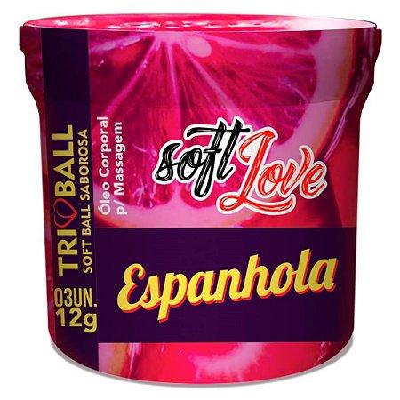 TRIBALL ESPANHOLA SOFT BALL AROMAS 12GR