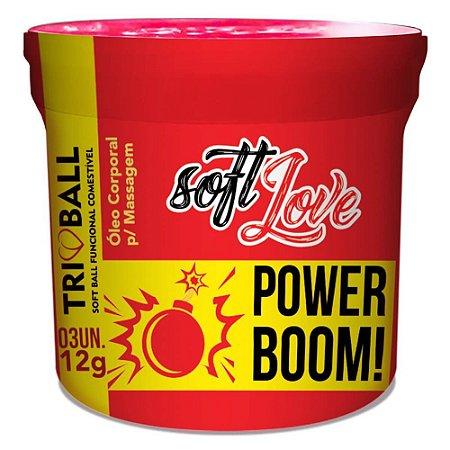 TRIBALL POWER BOOM SOFT BALL ENERGÉTICO 12GR