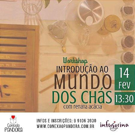 Workshop de Chás ♥ Florianópolis/SC - 14/02/19 - 13H30