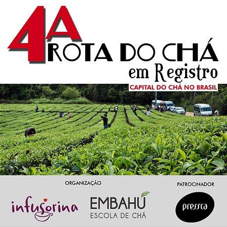 4a. Rota do Chá em Registro - dias 08, 09 e 10 de Novembro | 2019