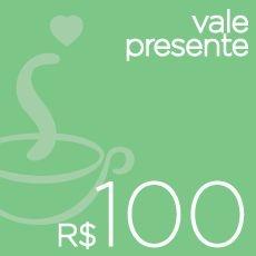 Vale-presente R$ 100