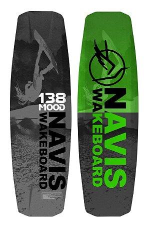 Prancha de Wakeboard Navis Mood 138 - Consulte valor do frete