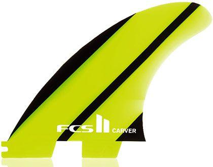 Quilha FCS II Carver Neo Glass Tri Set