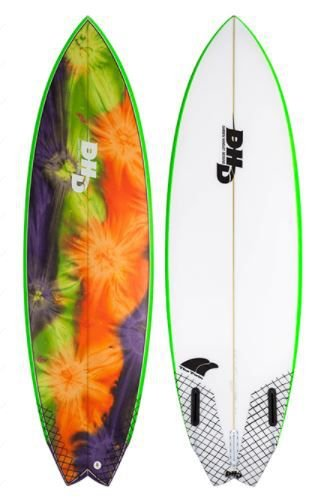Prancha de Surf DHD Twin Fin- Encomenda sob consulta