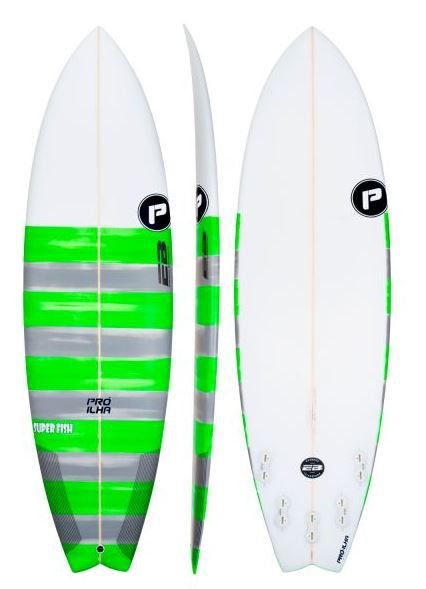 Prancha de Surf Pró-Ilha Super Fish- Encomenda sob consulta