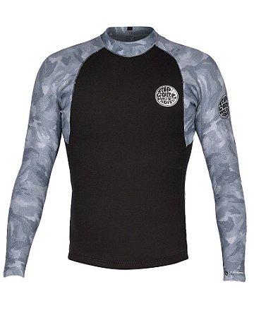 Camisa de Neoprene Rip Curl E Bomb E6 Grey