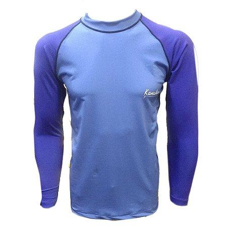 Camisa de Lycra Kanaha M/L Azul