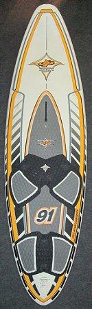 Prancha de Windsurf JP Wave 91 usada - R$ 1800,00 - Venda apenas na loja física