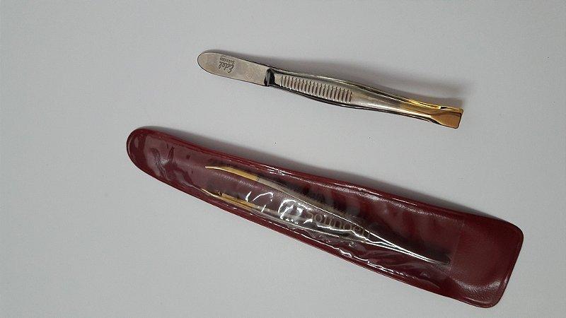 Pinça 8 cm reta - 202