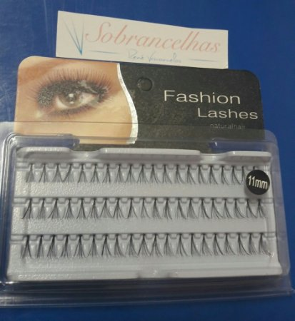 TUFOS DE CÍLIOS PARA ALONGAMENTO - FASHION LASHES Nº 11