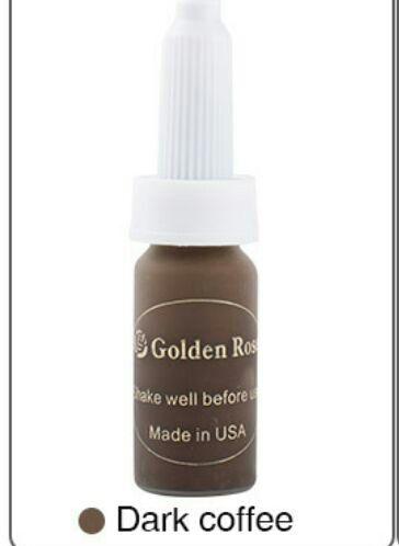 Pigmento Golden Rose - Castanho  Escuro