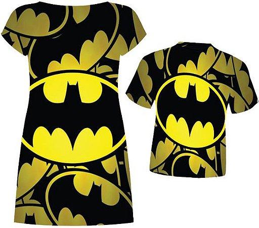 Kit Família Batman - Fundo amarelo
