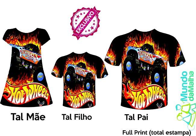 Kit Família Hot Wheels Fire