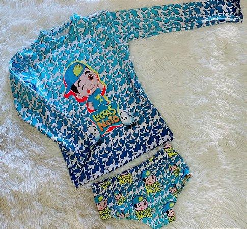 Kit de Proteção U.V - Blusa Proteção UV Netomania
