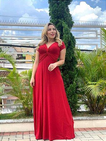 Vestido Graziela  Vermelho