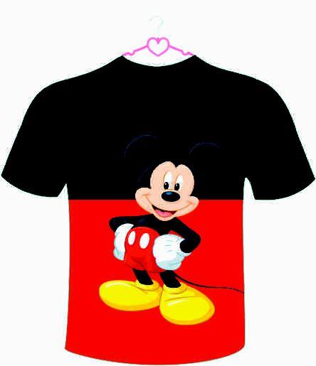 Camiseta Infantil M Mouse