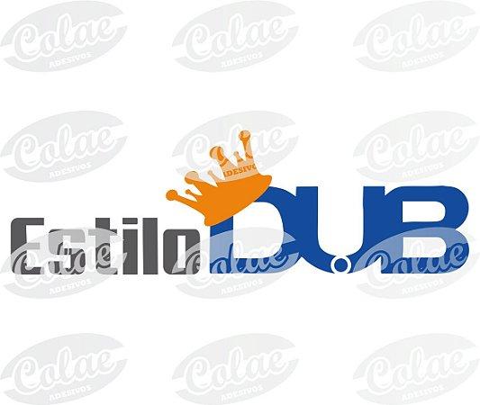 Adesivo Estilo DUB escrito (OFICIAL)