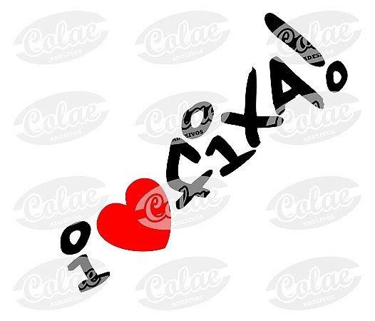 I Love Fixa ( 10 x 3 cm )