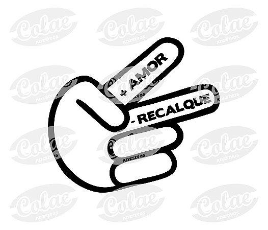+ Amor - Recalque  ( 10 X 9 cm )