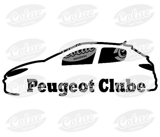 Peugeot Clube ( 15 x 5 cm )