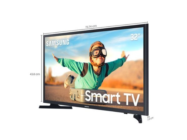 "Smart TV Samsung Tizen HD T4300 32"", HDR"