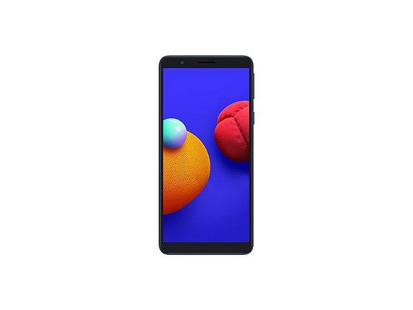 """Smartphone Samsung Galaxy A01 Core SM-A013M 32GB, 2GB RAM, Tela Infinita de 5.3"""", Câmera Traseira 8MP, Frontal de 5MP, Bateria de 3000mAh, Dual Chip, Android GO SMA013MZKSZTO"""