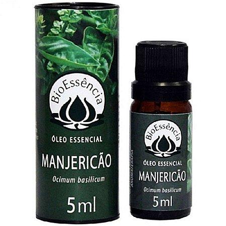 ÓLEO ESSENCIAL MANJERICÃO 5ml-Bioessência