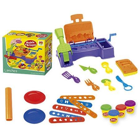 Massinha Modele E Brinque Lanches - DM Toys