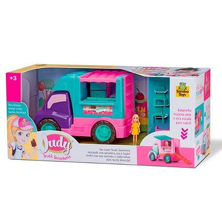 Sorveteria Food Truck Judy 118 - Samba Toys