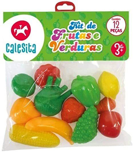 Kit Frutas e Verduras 209 - Calesita