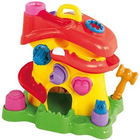 Brinquedo Educativo Didático Casinha Activity House 714 - Calesita