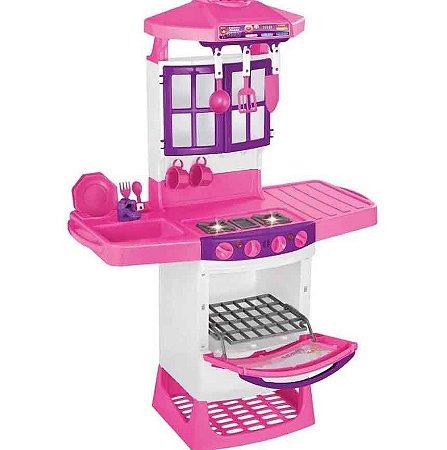Cozinha Infantil Mágica Eletrônica com Sons e Luzes 8011 - Magic Toys