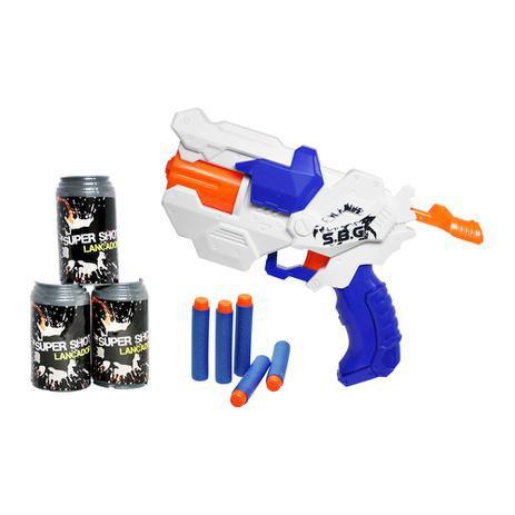Lançador de Dardos Super Shot Supreme DMT5162 - DM Toys