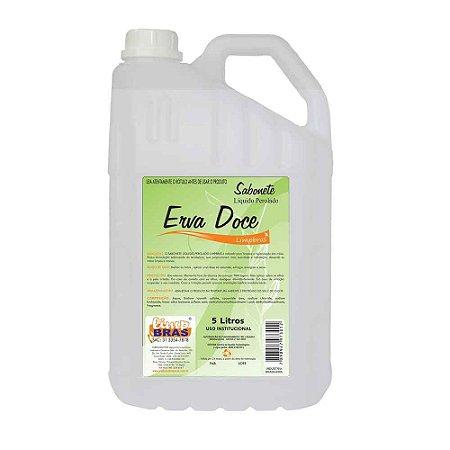 Sabonete Líquido 5L - Erva Doce - Limpbras