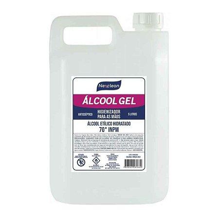 Álcool Gel 70% 5L - Nexclean