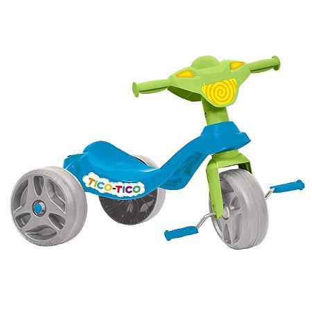 Triciclo Para Bebê Tico Tico Infantil Azul 650 - Bandeirante