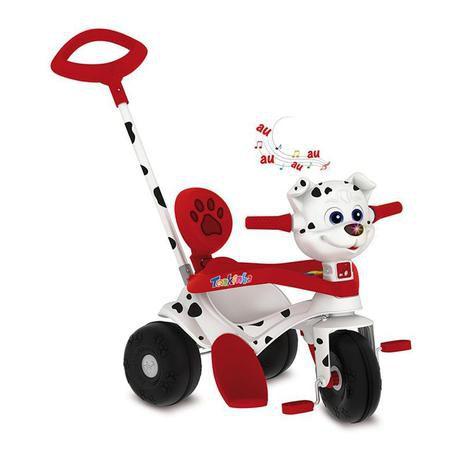 Triciclo Tonkinha Doggy Passeio E Pedal 702 - Bandeirante