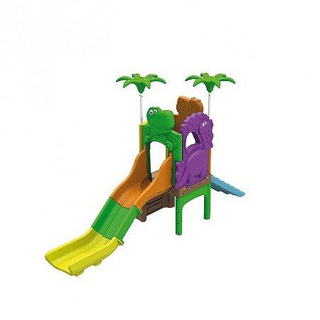 Playground Ilha Dos Fofossauros (Escorrega E Rampa) 1008.7 - Xalingo