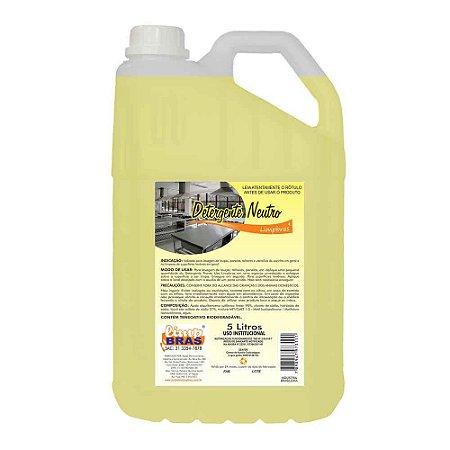 Detergente Neutro PU - 5L - Limpbras