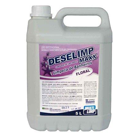 Limpador Deselimp Maxx - 5L - Multilimp